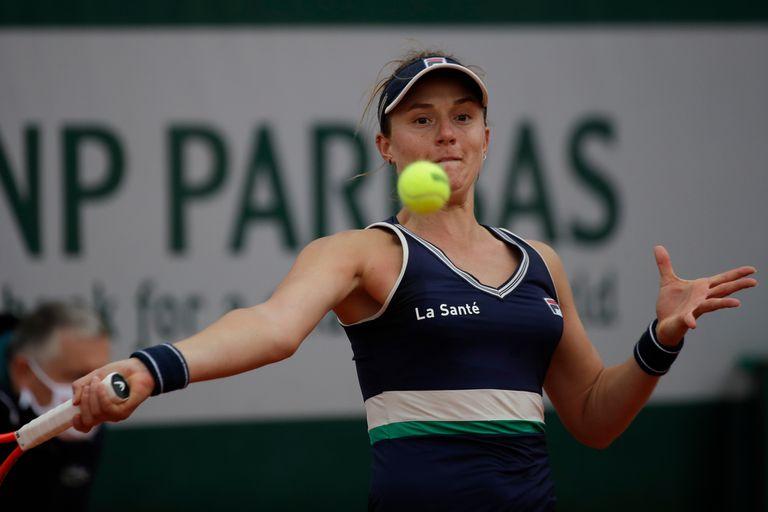 Cuento de hadas. Podoroska ganó y llegó a los octavos de final de Roland Garros