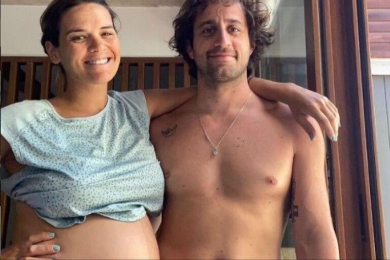 Mica Vázquez y su pareja Gero Klein se convirtieron en padres el 31 de diciembre