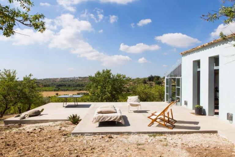 Una casa en las afueras. Foto: cortesía Airbnb