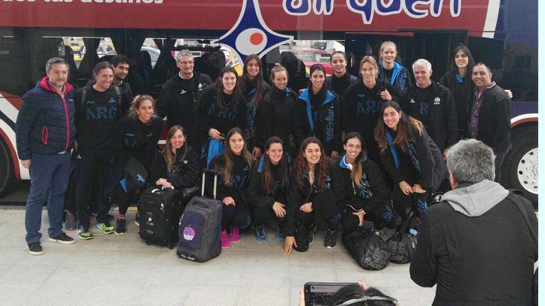 Las Panteras, en su llegada a Neuquén