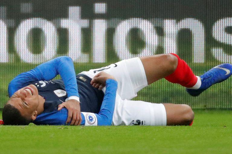 Martes negro para PSG: Mbappe y Neymar se lesionaron en sus seleccionados