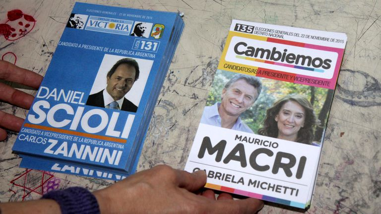 Ballotage histórico en Argentina