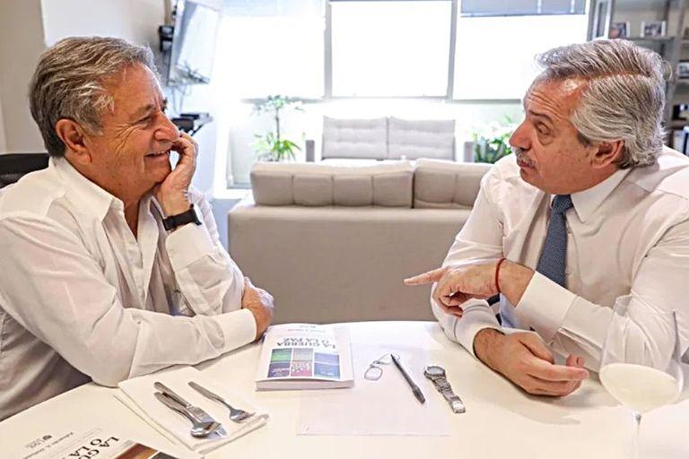 """Vacunas. Fernández, contra Duhalde: """"Hubiera sido mejor que diga la verdad"""""""