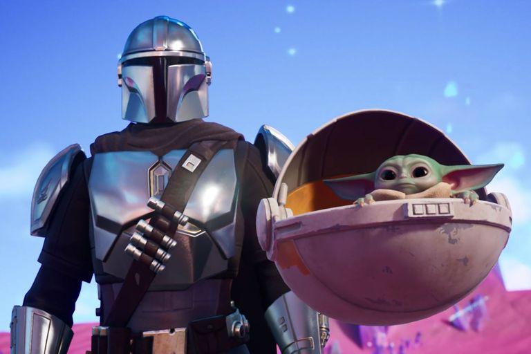 Los protagonistas de The Mandalorian de Disney+ fueron las figuras de la temporada 5 de Fortnite