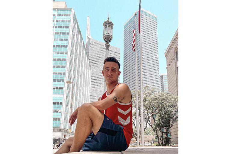 Juan Ignacio Zaffalon trabaja en Estados Unidos y su cuenta de TikTok tiene mas de 760.000 seguidores