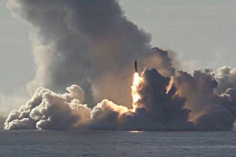 Una guerra nuclear podría incluir misiles lanzados desde submarinos