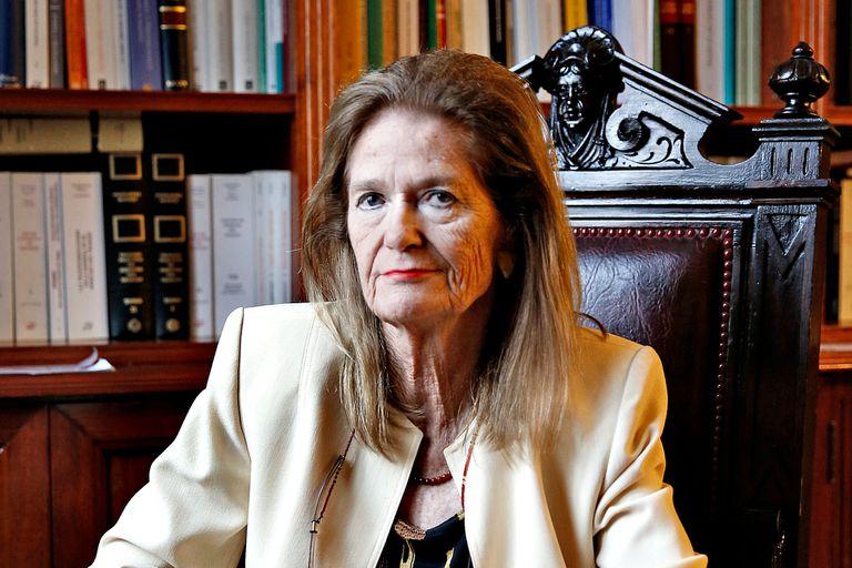La jueza Elena Highton era, desde la muerte de Carmen Argibay, la única mujer de la Corte Suprema