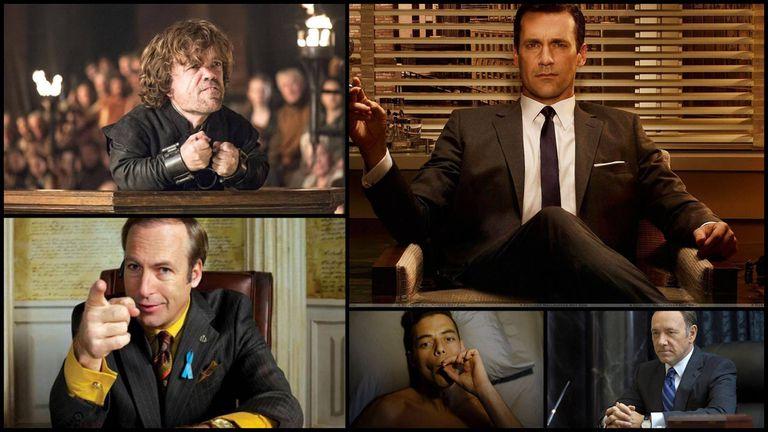 Mejor actor serie dramática: Peter Dinklage, Jon Hamm, Bob Odenkirk, Rami Malek y Kevin Spacey