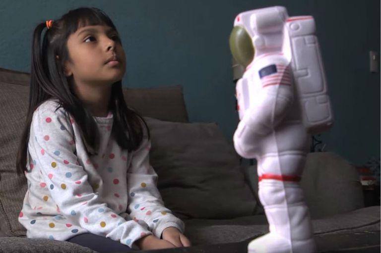 La niña tiene un coeficiente intelectual de 162, dos puntos más alto que el que tenía Albert EInstein