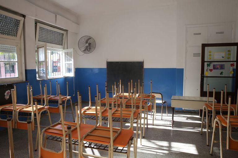 Escuelas sin clases presenciales en la provincia de Buenos Aires