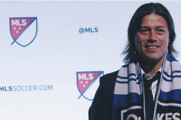 Matías Almeyda llegó a la MLS para dirigir al San Jose Earthquakes