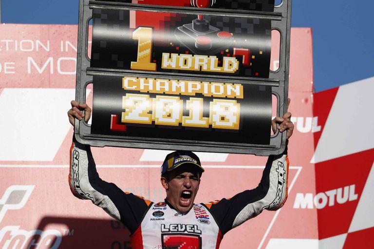 Márquez agiganta su leyenda: se consagró pentacampeón de MotoGP con solo 25 años