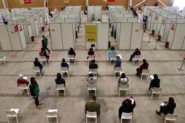 Parque Olímpico reacondicionado para vacunar contra el Covid-19