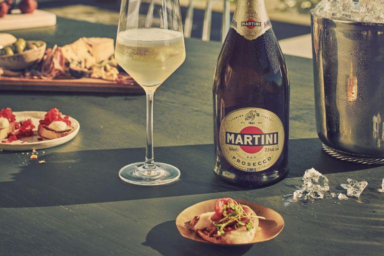 Comer con burbujas: Martini Prosecco conquista las mejores mesas
