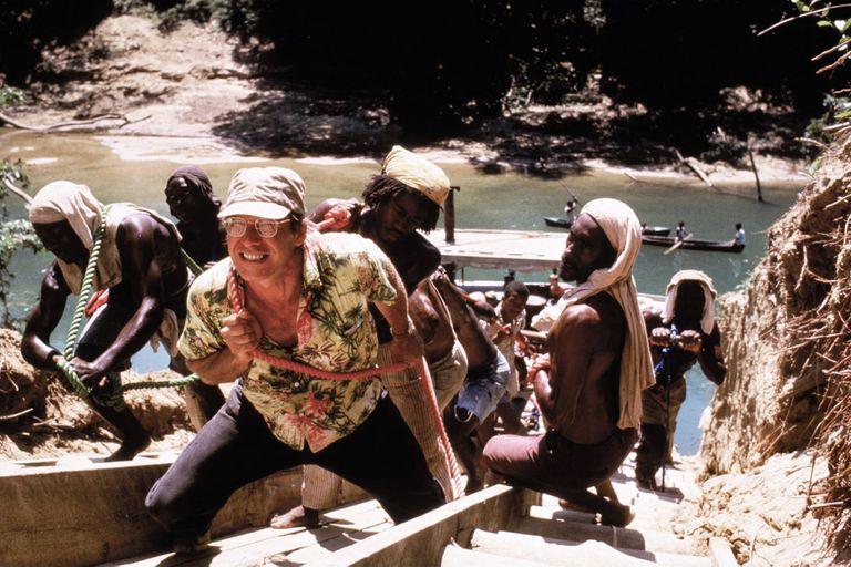 Harrison Ford, en una escena de La costa Mosquito