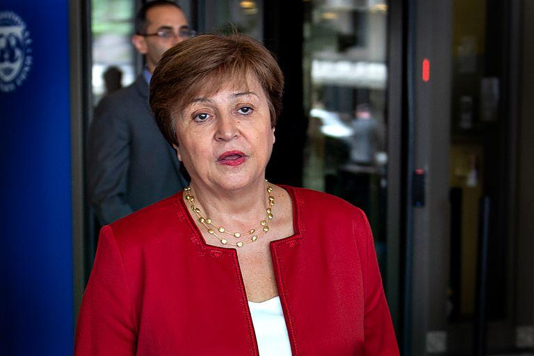 """Sin hablar del país. Para Georgieva, el FMI tiene que ser """"un corazón que late"""""""