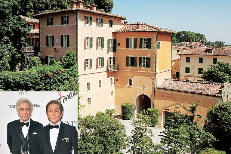 Valentino GaraVani y Giancarlo Giammetti