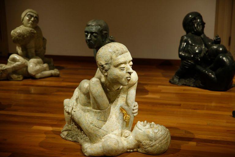 Detalle de Kinderspielen, En memoria de Eliana Molinelli, Juan Carlos Distéfano, 2003-2005