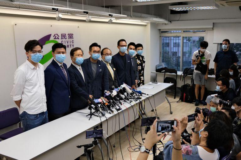 Hong Kong: vetan a 12 candidatos prodemocracia para las elecciones legislativas