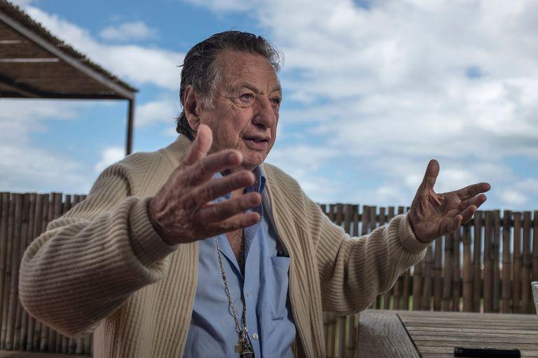 La última entrevista que Franco Macri concedió a LA NACION, en mayo de 2017, en su casa de Punta del Este