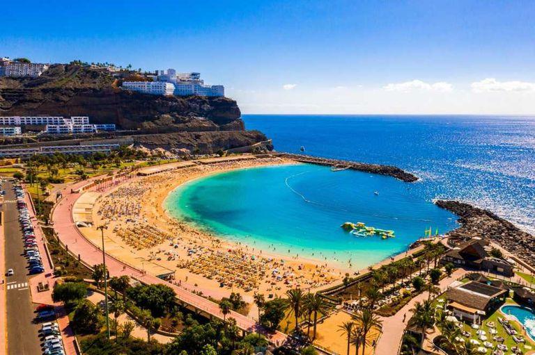 Una postal de las Islas Canarias.