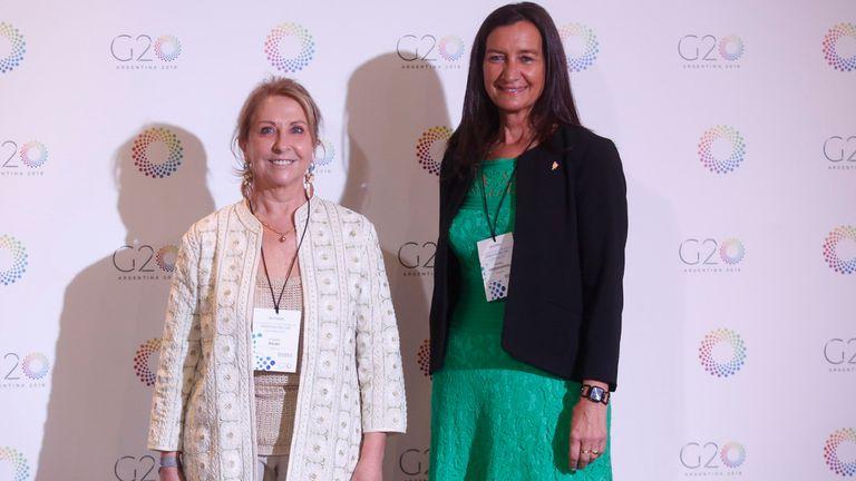 Las empresarias Susana Balbo y Andrea Grobocopatel