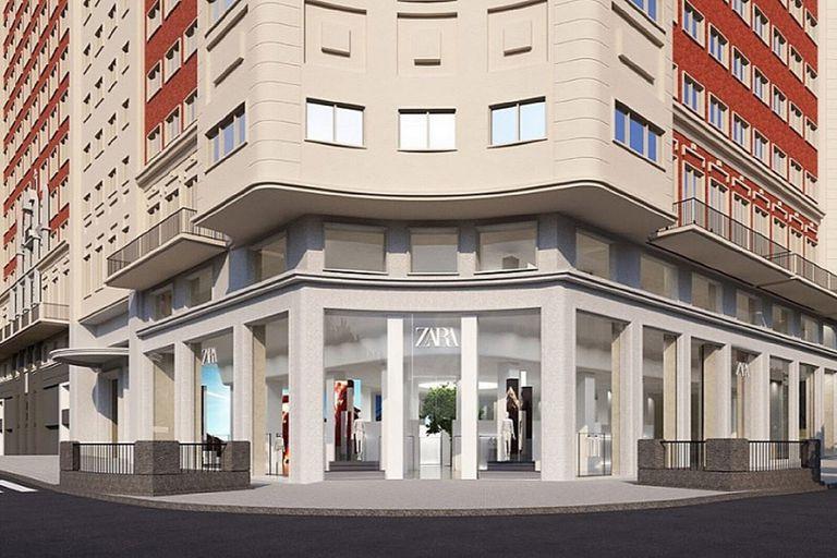 Zara anunció la apertura de una megatienda de casi 8000 metros cuadrados de superficie en el emblemático Edificio España de Madrid.