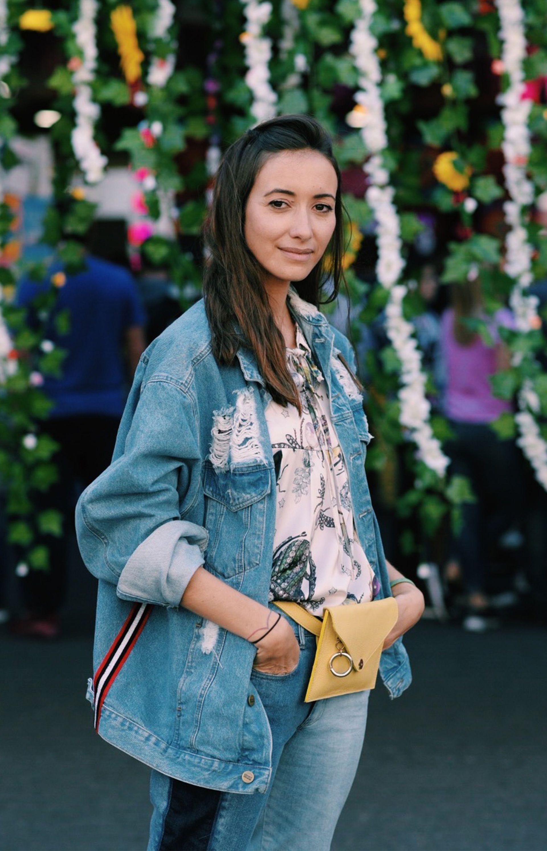 La conexión con la moda es algo que heredó de su mamá, que confeccionaba sus propias prendas