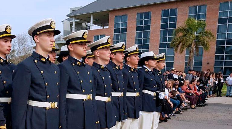 En el Liceo Naval Almirante Brown, de Vicente López, se realizaron jornadas pedagógicas, con fuertes rechazos a los cambios que impulsa el Ministerio de Defensa