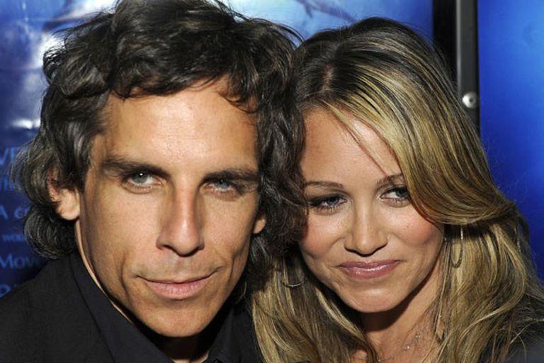 Ben Stiller y su esposa Christine Taylor se conocieron en el set en 1999