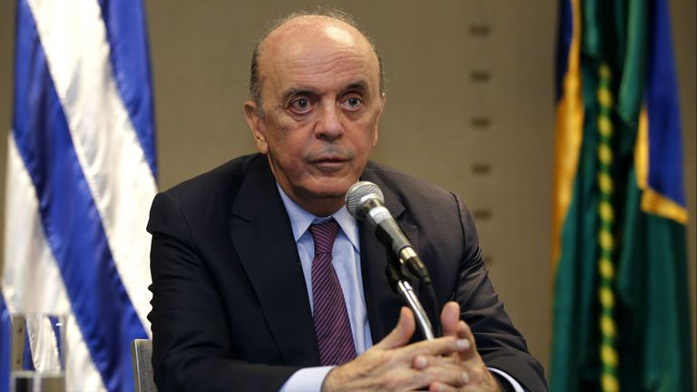 El canciller de Brasil propuso posponer la decisión de darle la presidencia pro tempore a Venezuela