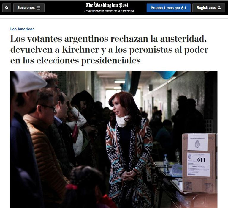El Washington Post, de Estados Unidos