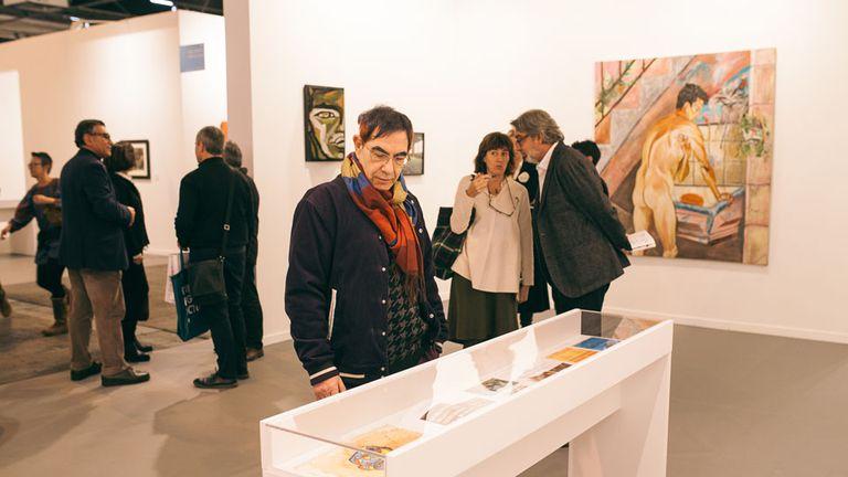AperturaObra de Marcia Schvartz, en la galería Cosmocosa.