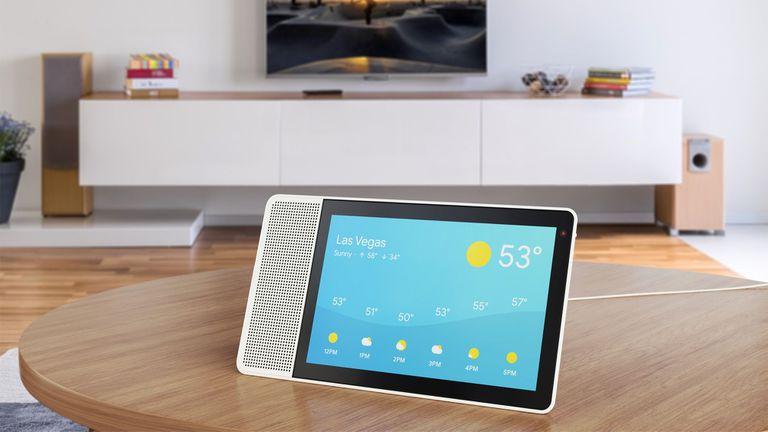 El Lenovo Smart Display está disponible en dos tamaños: 8 y 10 pulgadas