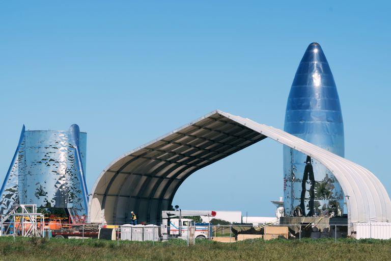 El prototipo del cohete con el que SpaceX quiere llegar a Marte