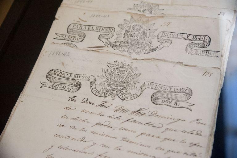 La Argentina restituyó a Perú manuscritos pertenecientes al Patrimonio Documental del Perú que datan del siglo XIX y que habían sido sustraídos del país y traídos al pais.