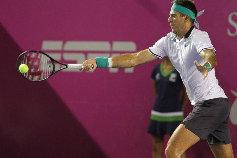 Del Potro no pudo con Fognini en la final del ATP 250 de Los Cabos