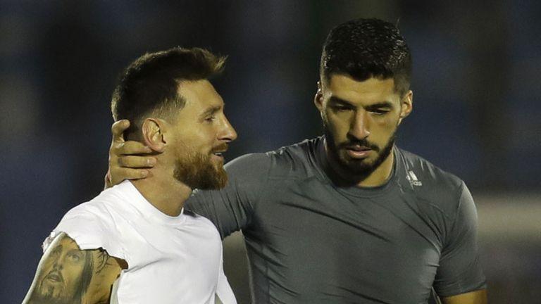 Como Messi y Suárez, la amistad de los futbolistas que son casi hermanos