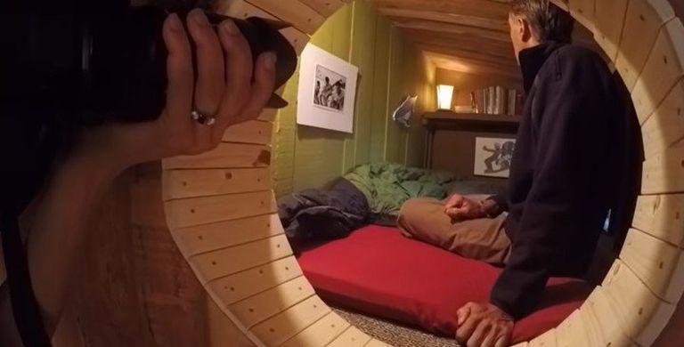 El interior de la vivienda del fotógrafo