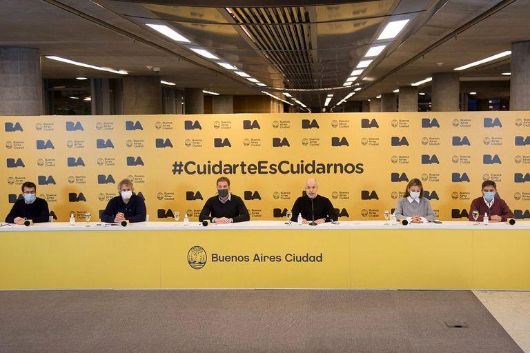 El jefe de Gobierno porteño, Horacio Rodríguez Larreta, dio detalles sobre la próxima etapa en la Ciudad,