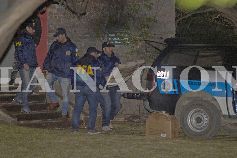 Los allanamientos en la casa de Cristina Kirchner en El Calafate