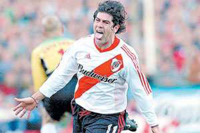 Marcelo Salas y una sana costumbre: hacer goles en River