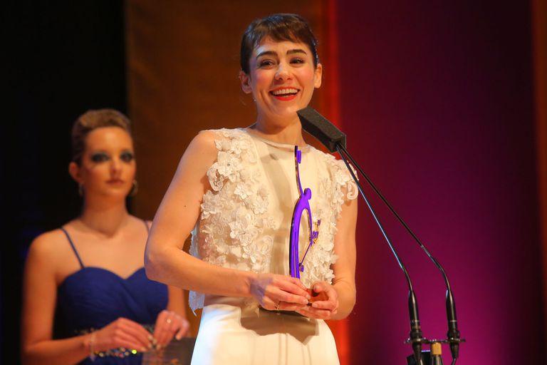Paula Reca se llevó el premio a mejor actriz
