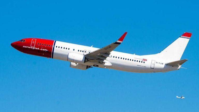 Norwegian pedirá autorización en abril para operar rutas aéreas