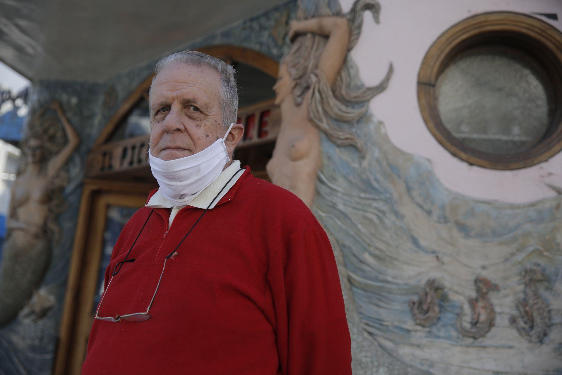 Alfredo Alberti, presidente de la Asociación de Vecinos de La Boca. A los 75, sigue luchando por un barrio mejor
