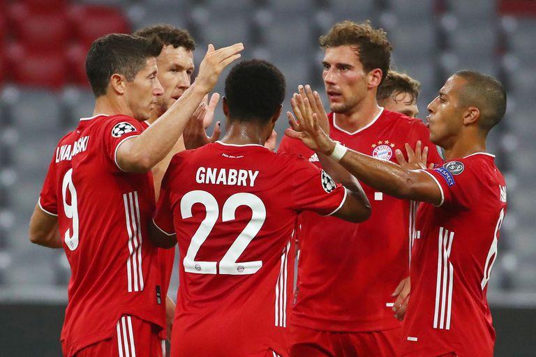 Bayern Munich goleó a Chelsea y avanzó a cuartos