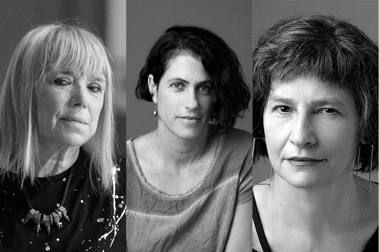 María Moreno, Katya Adaui, Gabriela Saidon
