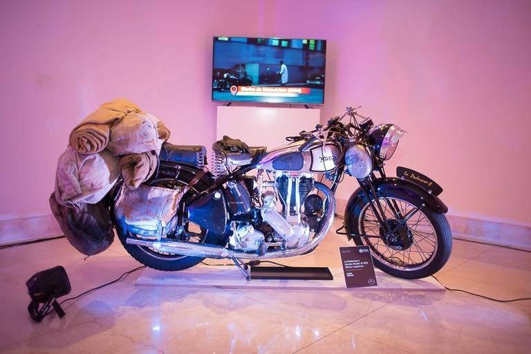 "Motocicleta Norton utilizada en la película ""Diarios de Motocicleta"""