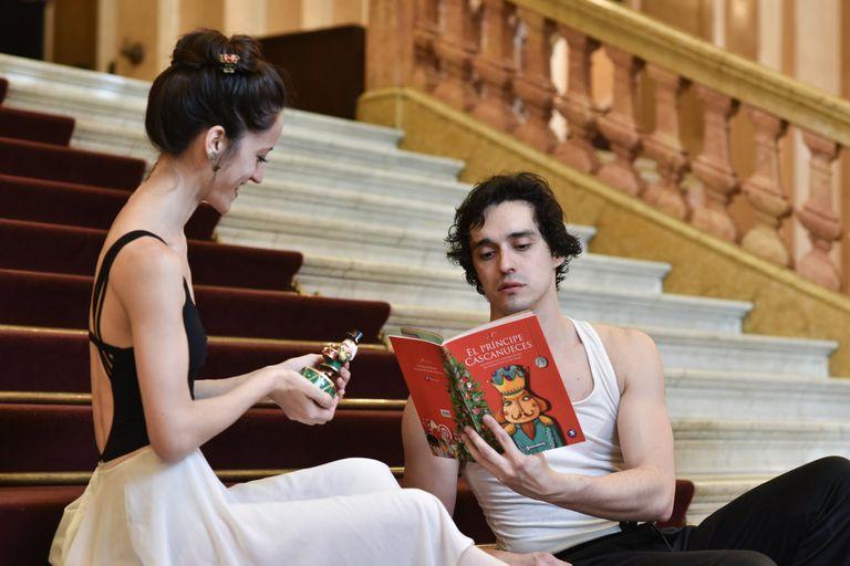 Ayelén Sánchez y Gerardo Wyss, con más experiencia, por primera vez en una coreografía de Nureyev; bailan el sábado 29