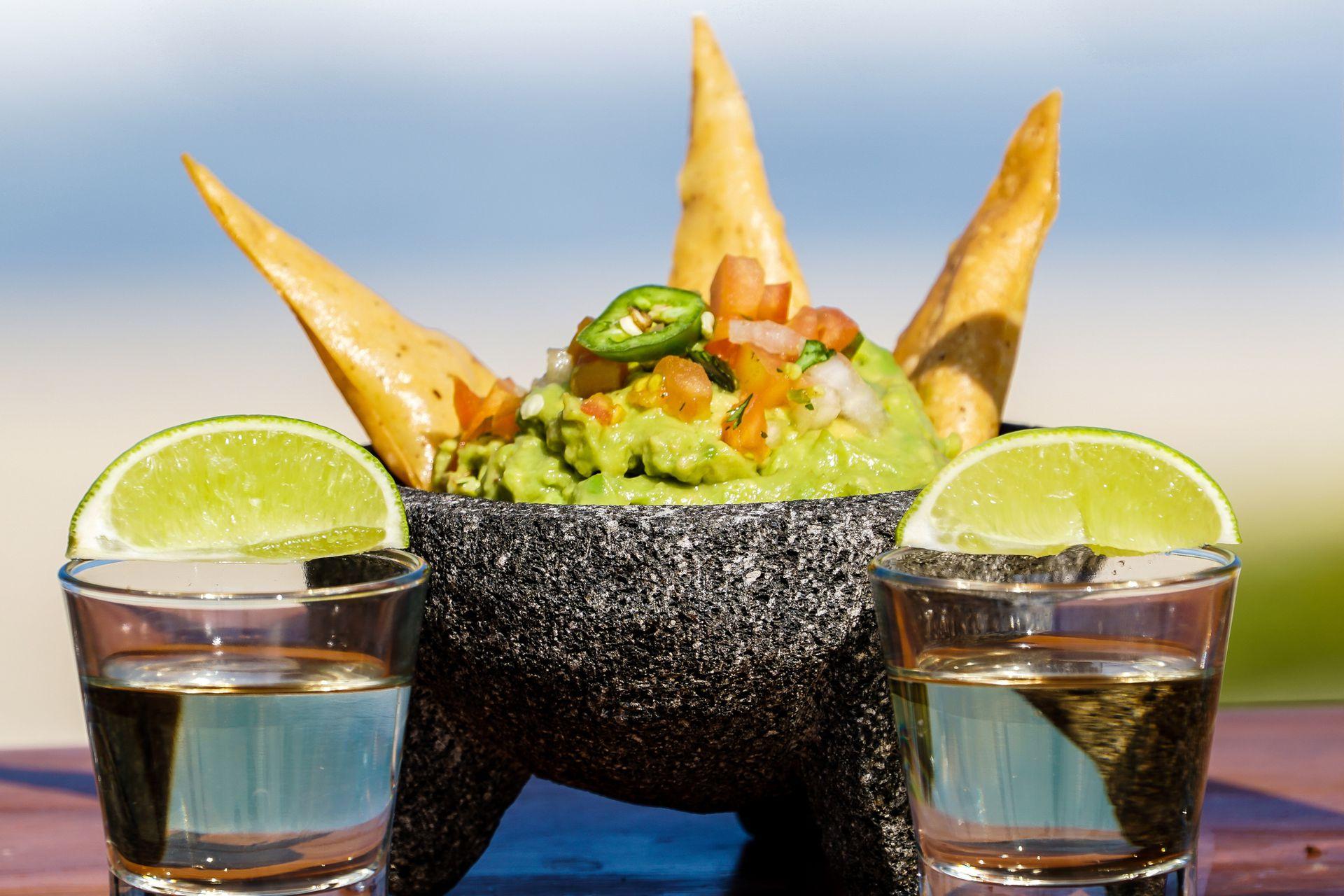 El guacamole, plato nacional
